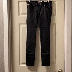 Guess Maxine super skinny black jeans size 26